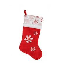 205 button snowflake christmas stocking - Michaels Christmas Stockings