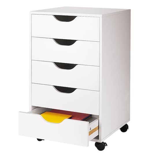 find the 5 drawer letterpress cube by ashland at michaels