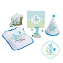 Lillian RoseTM First Birthday Party Set Blue