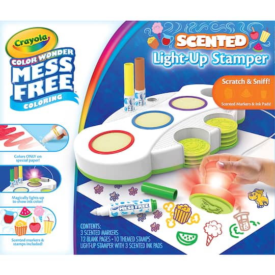 Crayola Color Wonder Mess Free Light Up Stamper