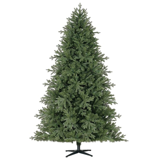 pre lit quick set hinged victoria spruce full artificial christmas tree lv color changing led lights by ashland