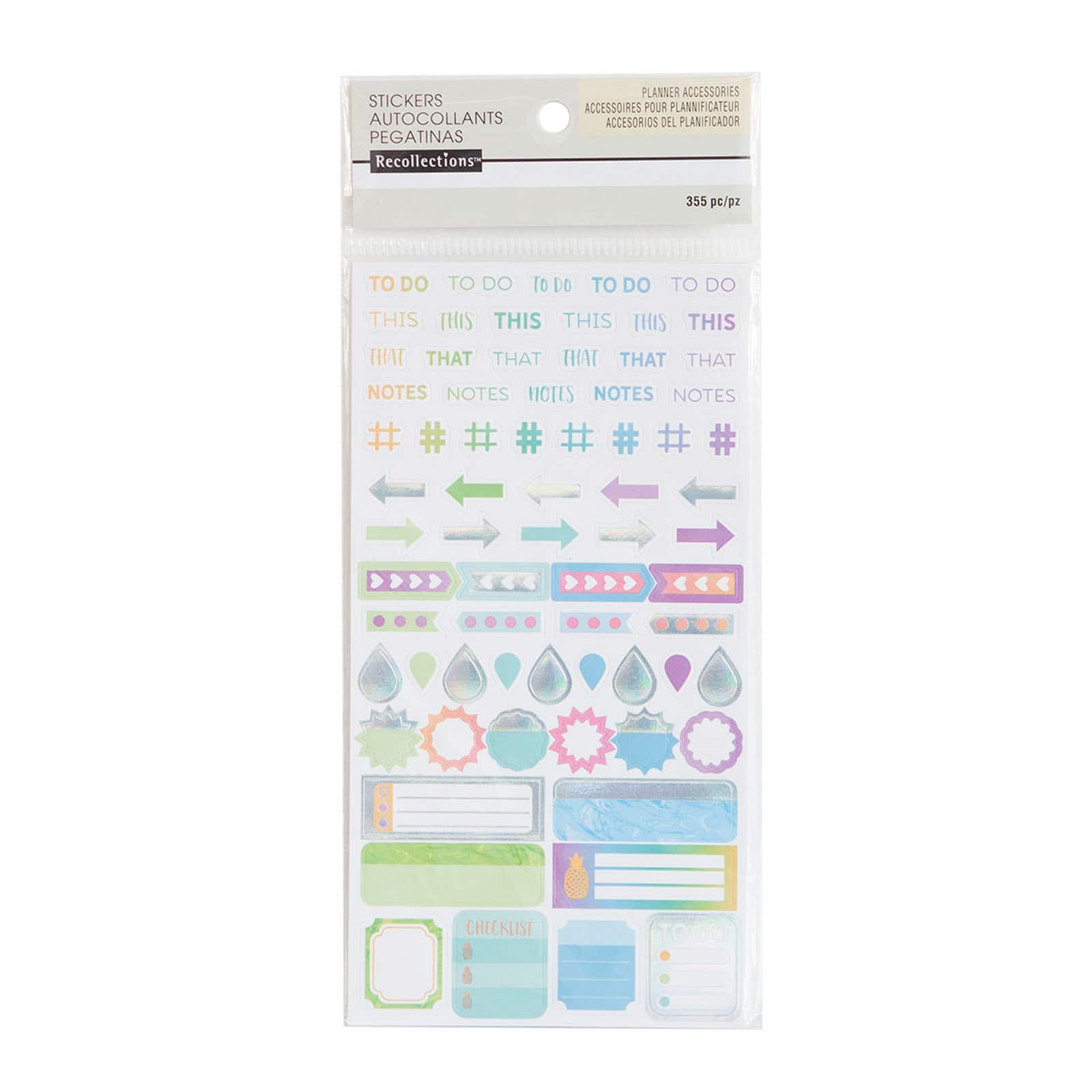 Cool U0026 Warm Small Label Stickers By Recollections™