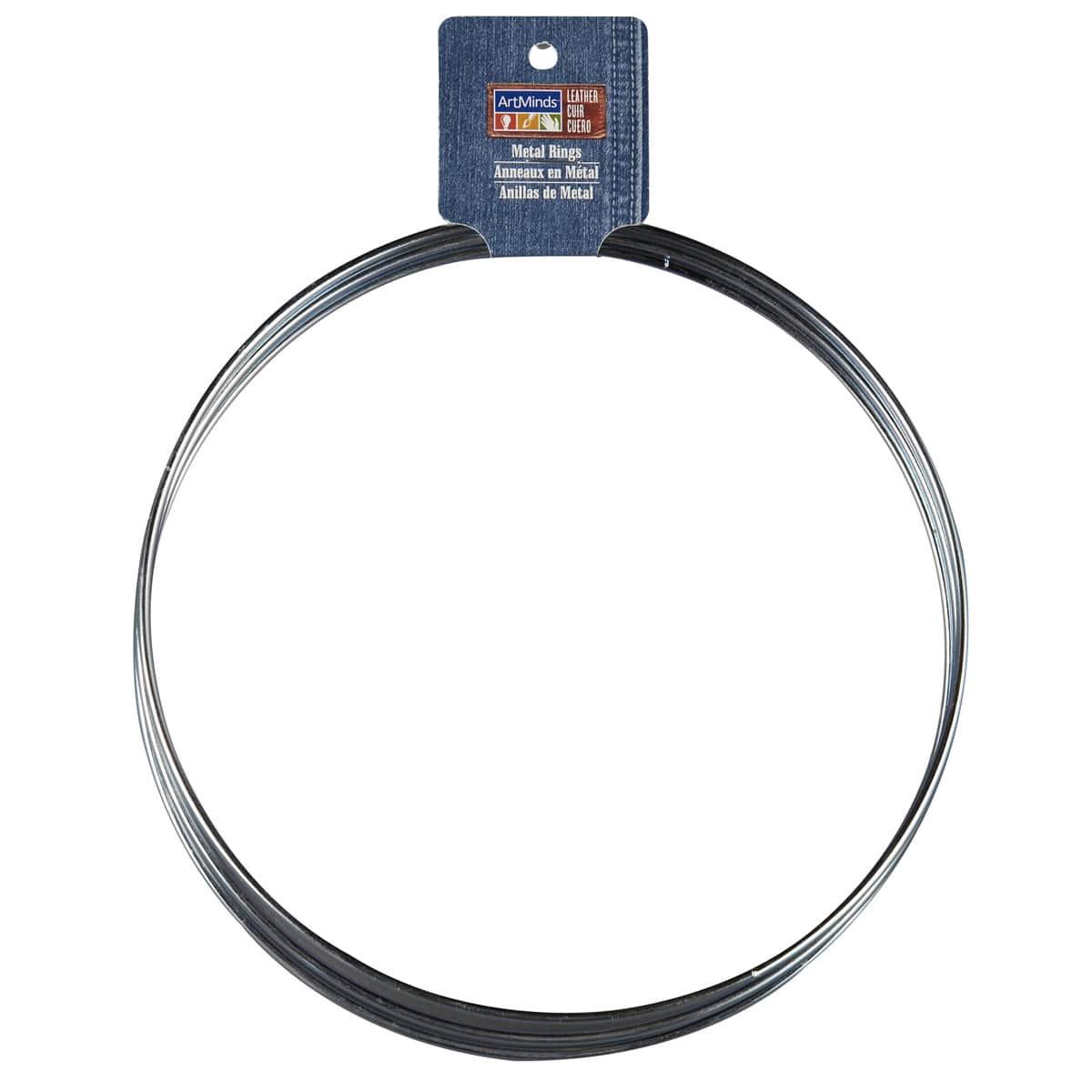 "Metal Dreamcatcher Ring Hoop 3/""// 7.6cm Brass Plated"