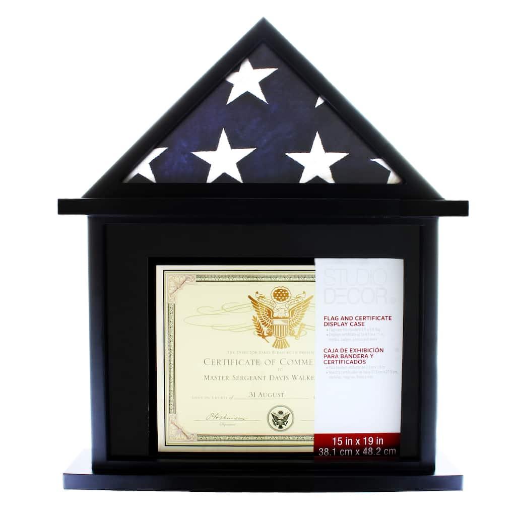 Flag Certificate Display Case