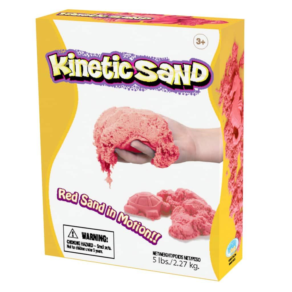 WABA Fun Kinetic Sand, Red, 5lbs