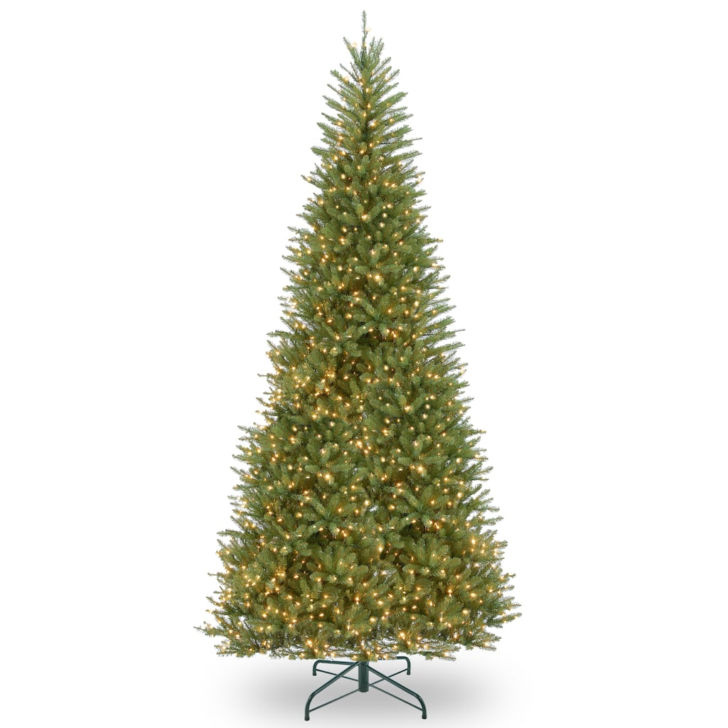 9046fbc8f214 Buy the 12 ft. Pre-Lit Dunhill® Fir Slim Artificial Christmas Tree ...
