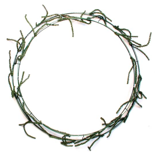 Ashland® Wire Wreath Frame With Ties, 24\