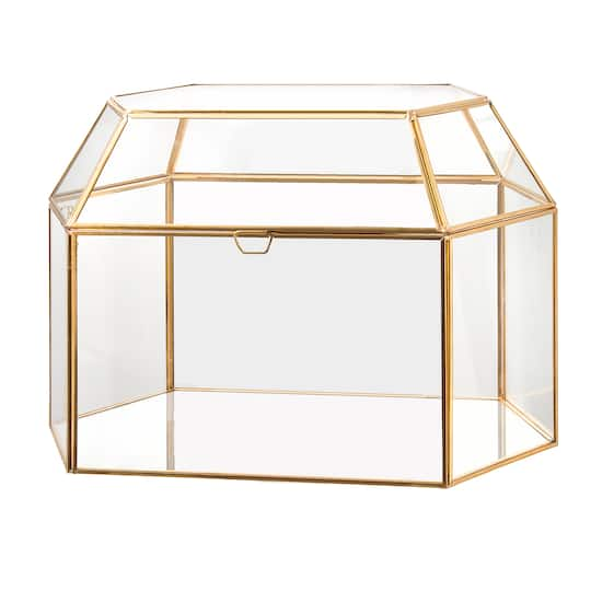 Shop For The David Tutera Gold Frame Card Box At Michaels