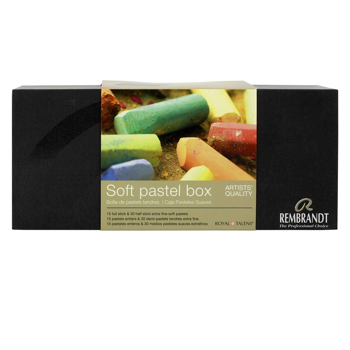 Rembrandt 30 Artists Soft Demi Pastel Box Set Professional Artists Pastels
