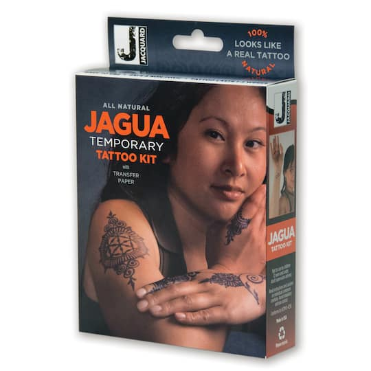 Find The Jacquard Jagua Temporary Tattoo Kit At Michaels