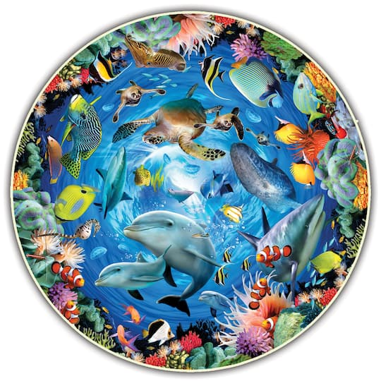 Ocean View Round Table Puzzle, Puzzle Round Table
