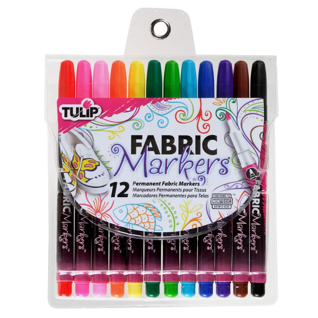 tulip fabric markers fine writers