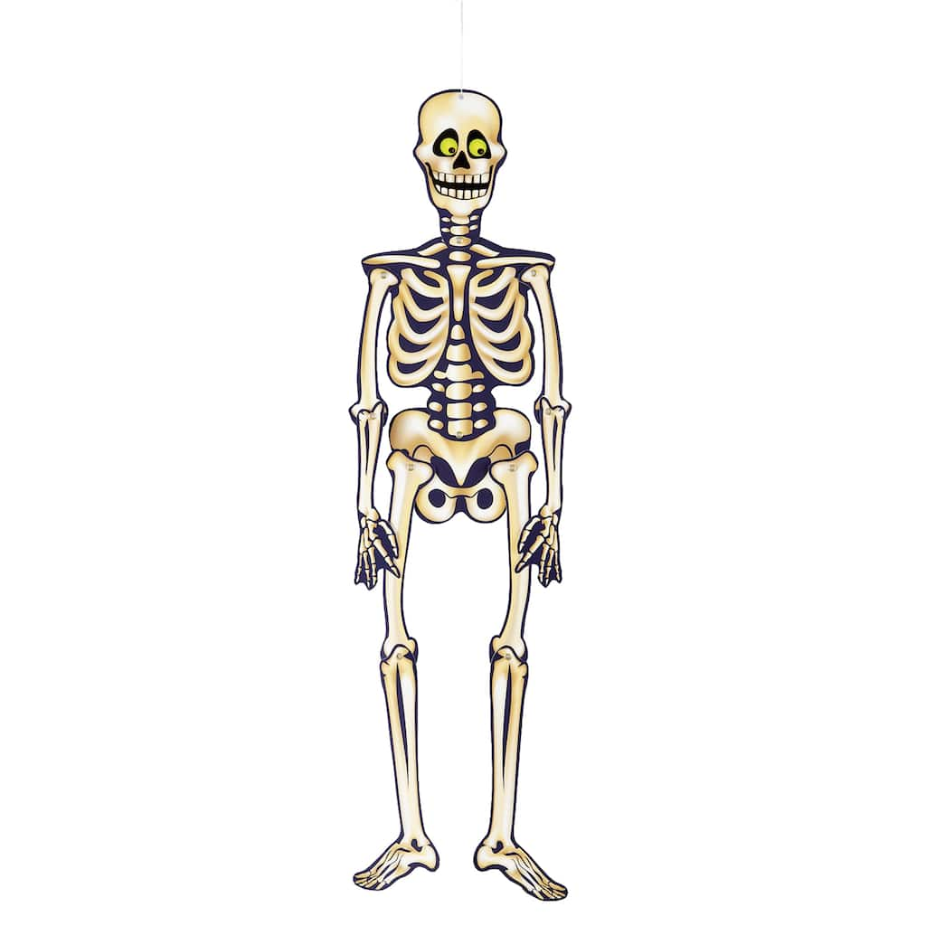 Jointed Skeleton Halloween Decoration