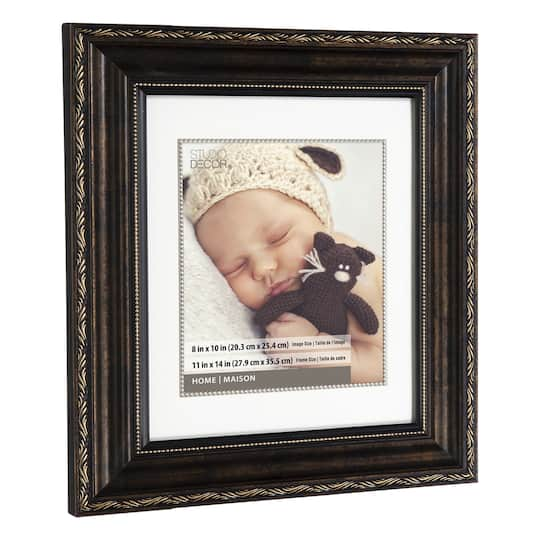 Shop For The Bronze Ornate Frame 11 Quot X 14 Quot With 8 Quot X 10