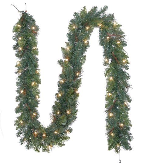 buy the mixed pine lighted garland by ashland at michaels