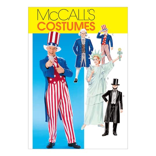 453c8c37d26 McCall's Pattern M6143 (Adult MED)