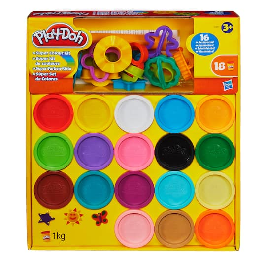 Shop For The Play Doh Super Color Kit At Michaels