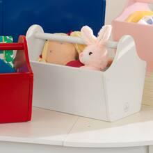 KidKraft Toy Caddy, White