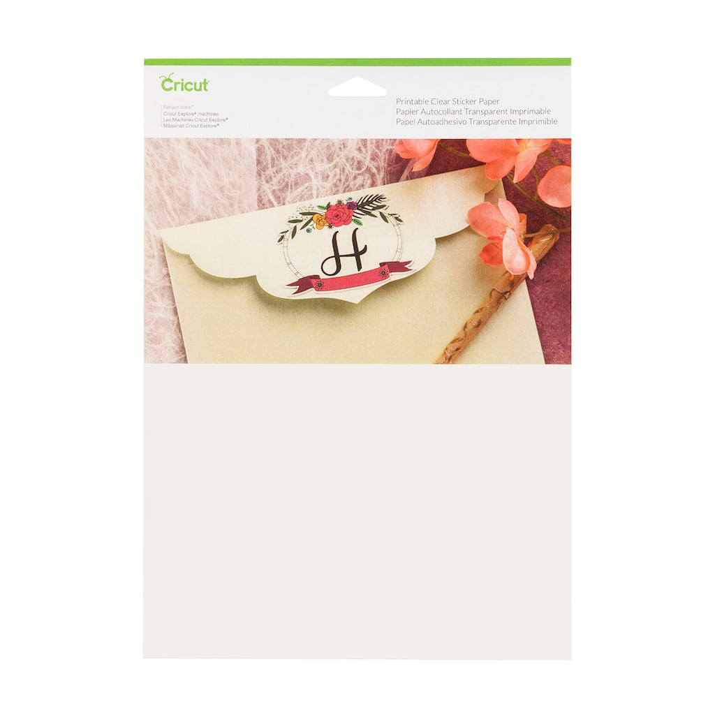 It's just a picture of Irresistible Clear Printable Paper