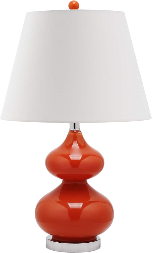 Eva Double Gourd Table Lamp In Orange