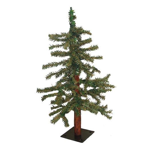 2' Natural Alpine Artificial Tabletop Christmas Tree - Unlit
