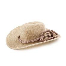 9fe2ef08460 Mini Cowboy Hats  2 inch Brown Felt Doll Hat