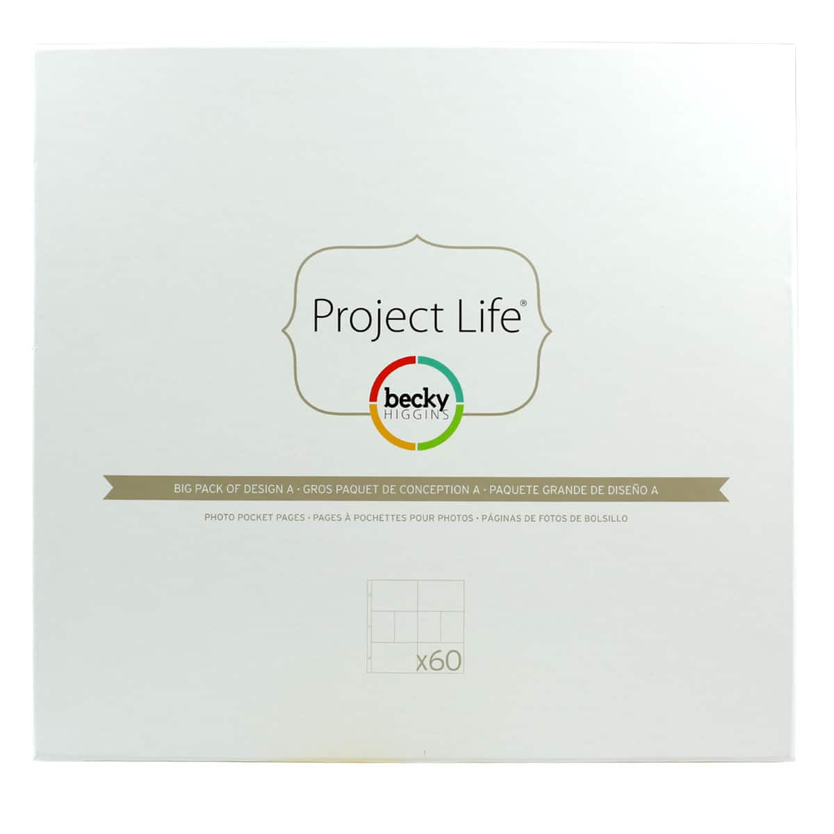 American Craft Becky Higgins Project Life Photo Pocket Pages 12x12 Big Pack