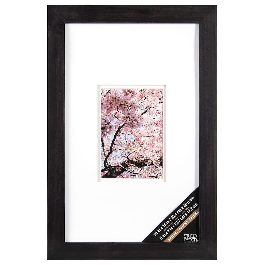 Shop For The Rustic Black Gallery Wall Frame With Double