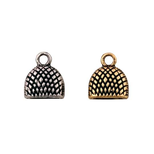 1  Pendant Semi circle textured round medallion statement 24K matte gold plated turkish jewellery supplies findings  mdla1062A