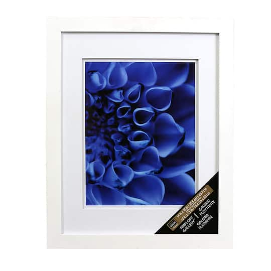 White Gallery Wall Frame With Double Mat By Studio Décor