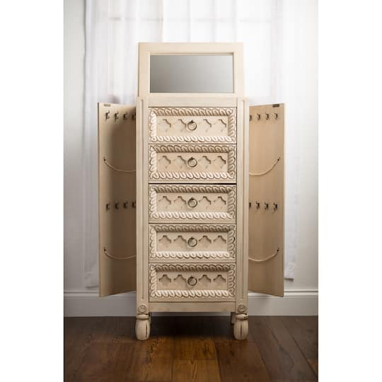 Buy the Hives & Honey Abby Jewelry Armoire at Michaels