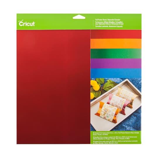 Cricut® Foil Poster Board Bejeweled Sampler