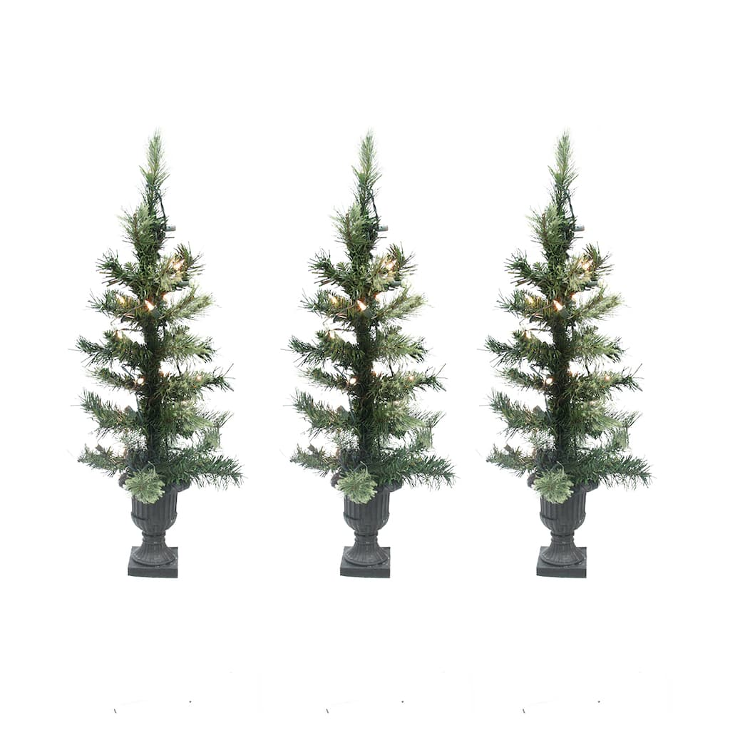 artificial tabletop christmas trees clear lights img - Michaels Christmas Trees Artificial