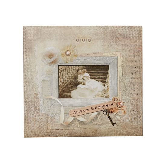 Buy The C R Gibson E Complete Vintage Wedding Scrapbook At Michaels