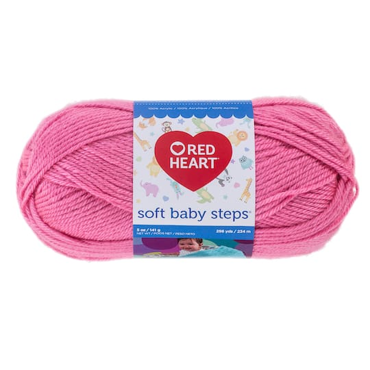 Red Heart 174 Soft Baby Steps Yarn Solid