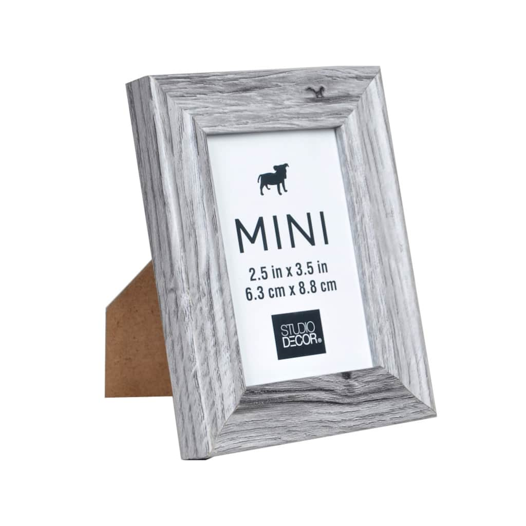 Find the Gray Mini Frame By Studio Décor®, 2.5\