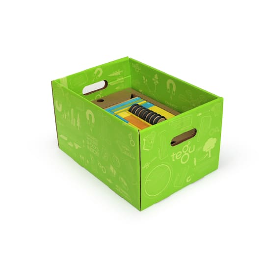 Tegu Tints Block 90 Piece Classroom Kit Box