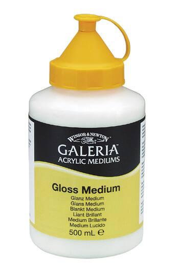 Winsor Amp Newton Galeria Acrylic Medium Gloss Medium 500ml