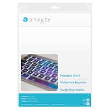 Silhouette® 8 Pack Printable Vinyl Sheets