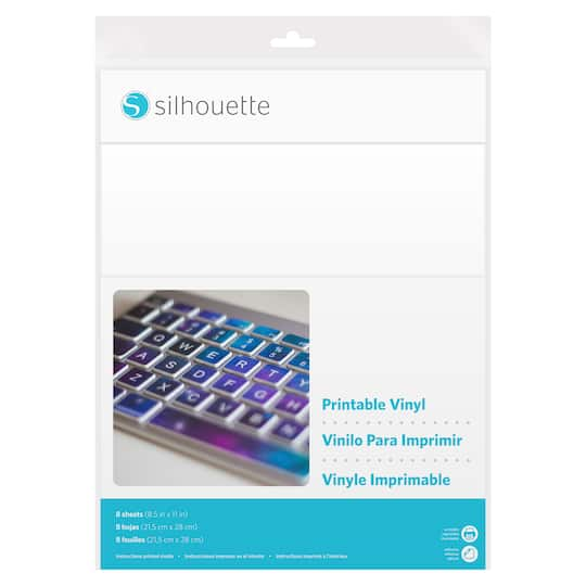 shop for the silhouette® printable vinyl at michaels