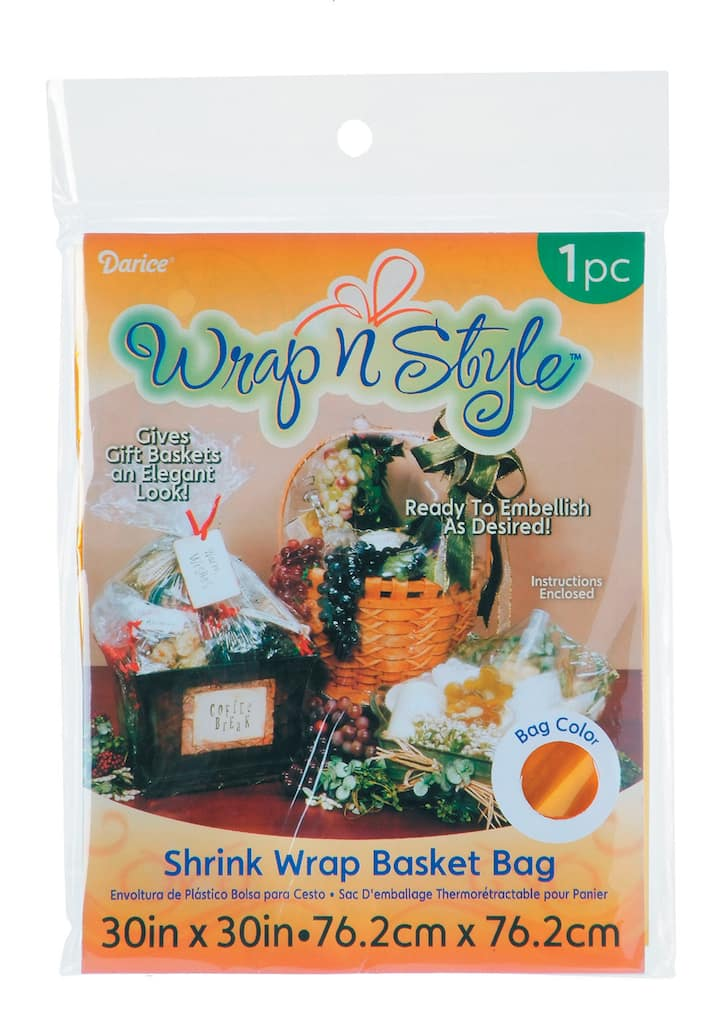 Shrink Wrap Bags For Gifts And Baskets Img