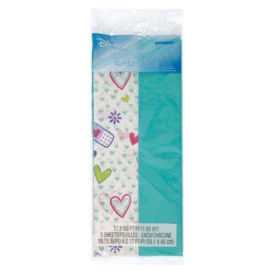 Teal Doc McStuffins Tissue Paper Sheets