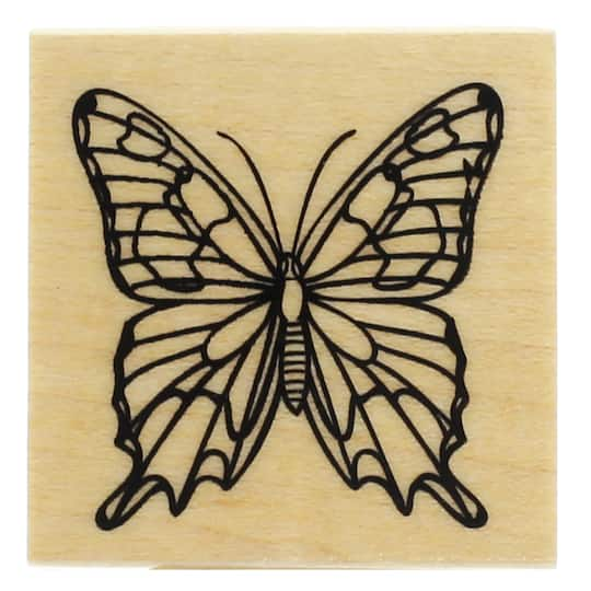 Buy The Butterfly Wood Stamp By RecollectionsTM At Michaels