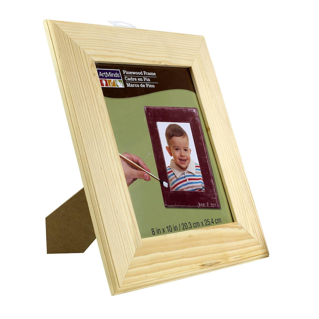 ArtMinds™ Unfinished Wood Frame, 8\