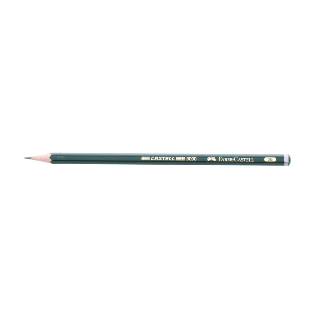 Faber-Castell 9000 Graphite Pencil, 2B