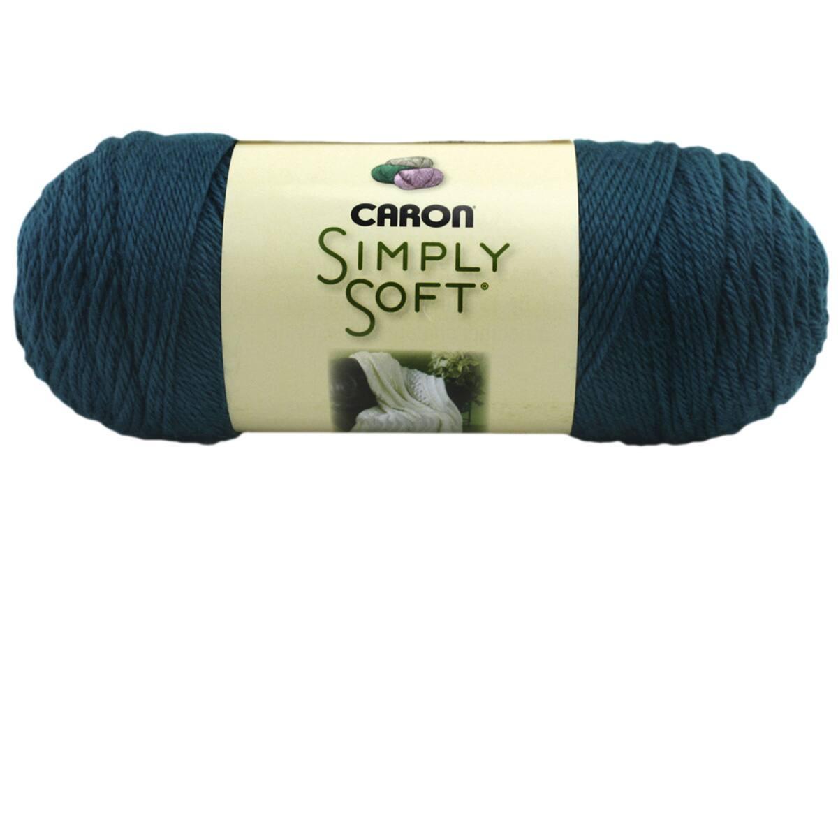 4 Caron Simply Soft Collection Yarn - 6 Oz - Medium Gauge 100/% Acrylic