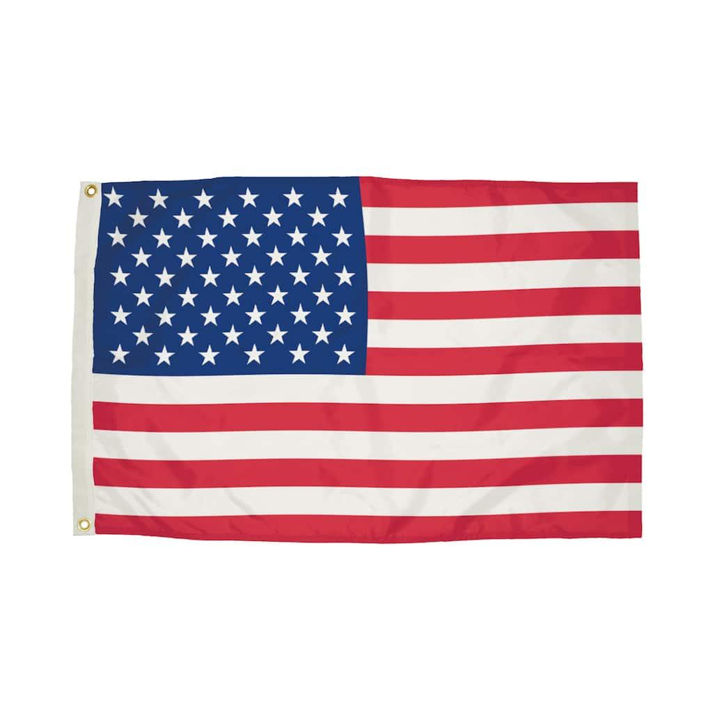 "Flagzone Durawavez 4"" x 6"" Outdoor U.S. Flag"