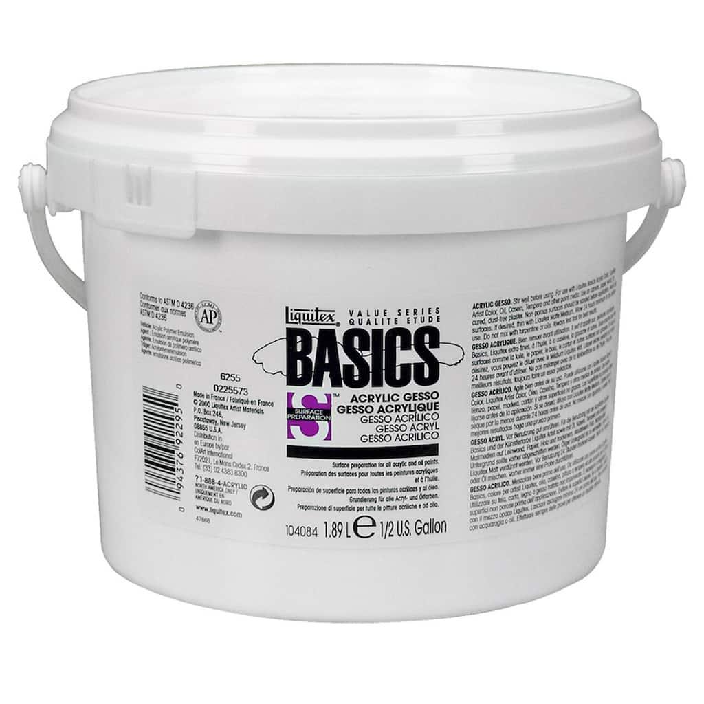 Liquitex BASICS Gesso, 64 oz.