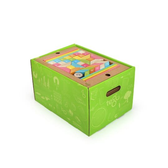 Tegu Tints Block 240 Piece Classroom Kit Box