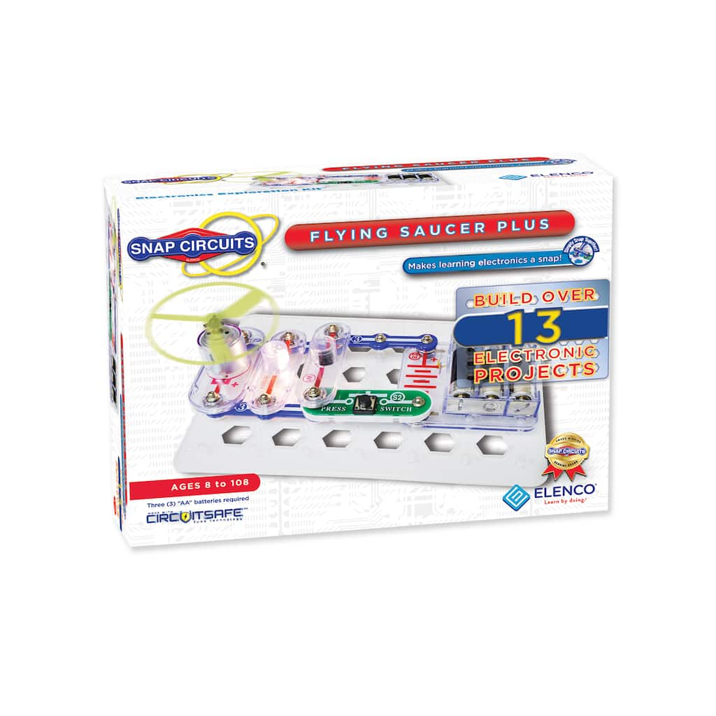 Shop For The Elenco Snap Circuits Flying Saucer Plus At Michaels Circuitsr By Elencor Replacement Parts